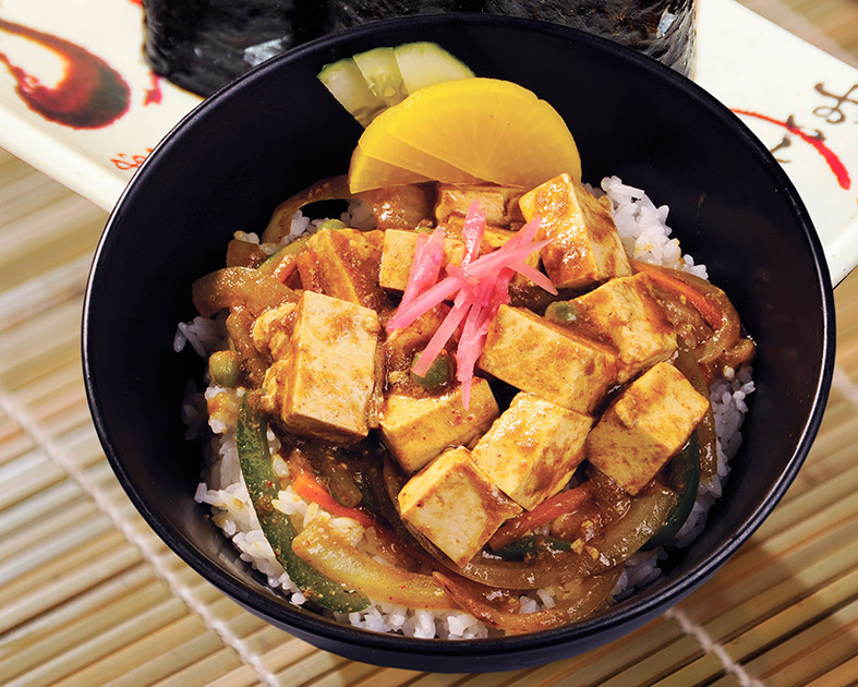 Curry Tofu Don
